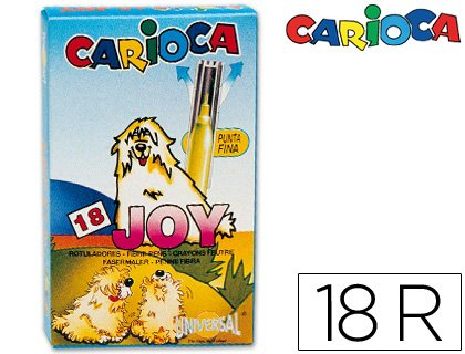 Preisvergleich Produktbild Carioca A11100018 Filzstifte, 18Stück