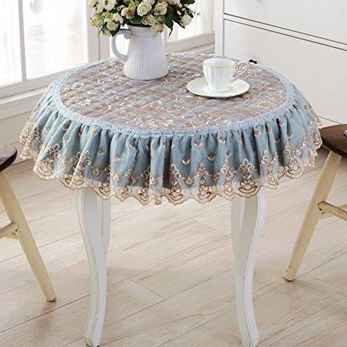 Style européen grande nappe ronde Table ronde-A diamètre50cm(20inch)