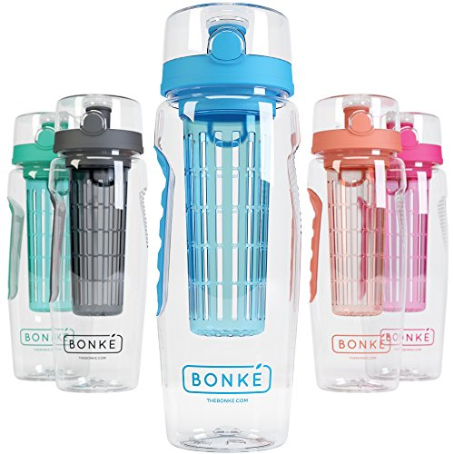 bonke-fruit-infuser-water-bottle-free-infused-water-ebook-and-cleaning-brush-3-in-1-large-32-oz-bpa-