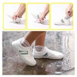 Overshoes Silicone Waterproof Shoe Cover Outdoor Rainproof Hiking Skid-Proof Shoe Covers Reusable...