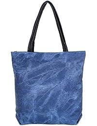 Antonio , Sac pour femme à porter à l'épaule bleu bleu