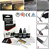Visbella Auto Repair Scratch Kit, 7Zweite Fast Dry Kleber Stärkung Selbstklebend Speedy Fix Auto Repair Filler für Metall Stahl Kunststoff Holz Gummi Keramik