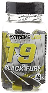 Extreme Labs T9 Black Fury Level 5 Fat Burner - Pack of 60 Caps from Extreme Labs