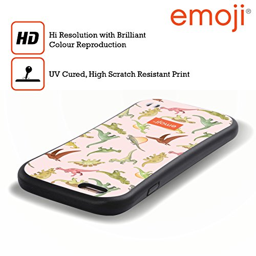 Ufficiale Emoji Meteora Dinosauri Case Ibrida per Apple iPhone 6 Plus / 6s Plus Random