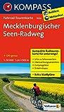 Mecklenburgischer Seen Radweg 1 : 50 000: Fietsroutekaart 1:50 000 (KOMPASS-Fahrrad-Tourenkarten, Band 7020)