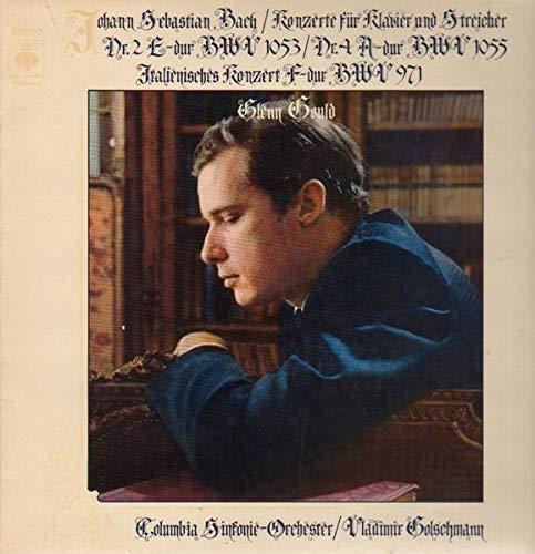 Konzerte für Klavier und Streicher #3 D-dur, #5 f-moll, #7 g-moll; Glenn Gould [Vinyl LP]