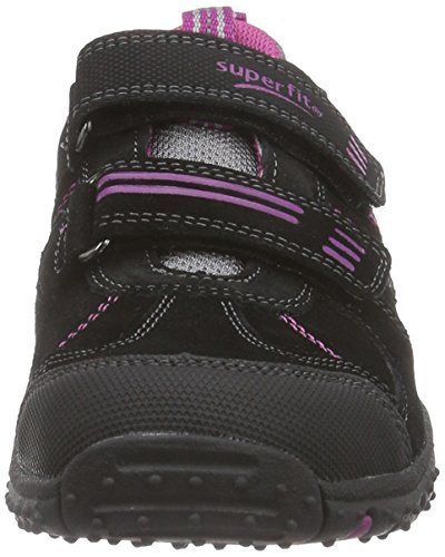 Superfit SPORT4 500224  Mädchen Sneakers Grau (STONE MULTI 07)