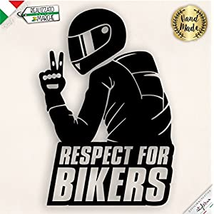 Aufkleber Respect for Biker