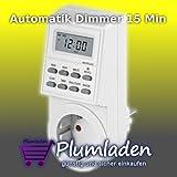 Automatikdimmer Zeitschaltuhr mit Automatik 15 Min Dimmer