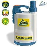 EU-Qualitätprodukt!!!Flachsaugende Schmutzwasser Tauchpumpe DRAINAGEPUMPE FÄKALIENPUMPE TROPFKÖRPERPUMPE KLÄRANLAGENPUMPE Pumpe DRAIN-TOP-2-370 als Gartenpumpe zum Bewässern und als Kellerpumpe zum Entwässern Ohne Schwimmerschalter Regenfasspumpe, EU-Qualitätprodukt zum SONDERPREIS! RegentonnenPumpe Fasspumpe