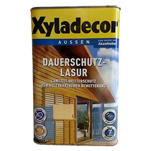 Preisvergleich Produktbild Xyladecor Dauerschutz-Lasur Eiche-hell 4 Liter