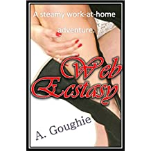 Web Ecstasy: A Steamy Work-At-Home Adventure. (English Edition)