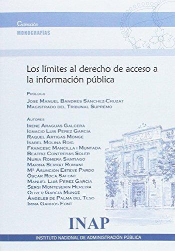 Los límites al derecho de acceso a la información pública (Monografia)