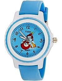 Vizion Analog Blue Dial (The Little Krishna-Stealing Butter) Cartoon Character Watch for Kids-V-8829-3-2