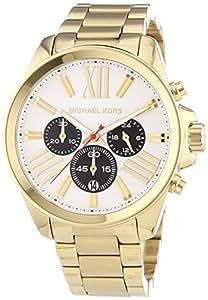 Michael Kors Damen-Armbanduhr Chronograph Quarz Edelstahl MK5838