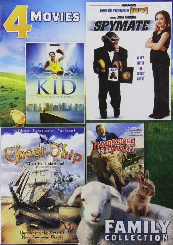 4-Movie Family Collection (Kid, Spymate, Ghost Ship, Impossible Elephant)