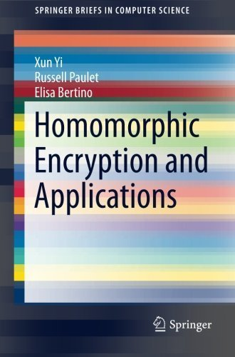 Homomorphic Encryption and Applications (SpringerBriefs in Computer Science) by Yi, Xun, Paulet, Russell, Bertino, Elisa (2015) Paperback
