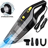 Uvistare Car Vacuum Cleaner,6000Pa Powerful Handheld Vacuums Portable Wet Dry Hoover 12V 120W