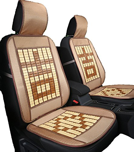 2018 Summer Bamboo Mahjong car seat Cushion,7 Rows of slabs