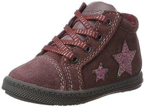 Lurchi Baby Mädchen Bibi Sneaker, Rot (Cassis), 24 EU
