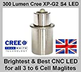 TTS Maglite LED upgrade for 3 to 6 D and C Cell Torch. Brightest conversion currently available.