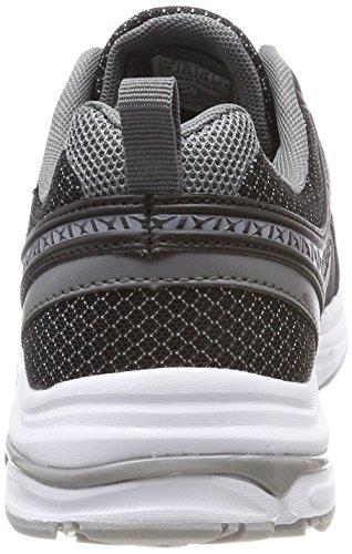 KangaROOS KR-Run 5, Sneaker Unisex – Adulto Nero (Jet Black)