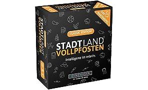 DENKRIESEN - Stadt Land VOLLPFOSTEN - Das Kartenspiel - Classic Edition - NEUHEIT 2019