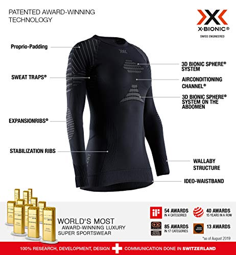 X-Bionic Invent 4.0 Shirt Round Neck Long Sleeves
