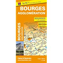 Plan de Bourges et de son agglomération
