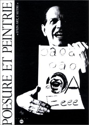 Poésure et Peintrie : d'un art, l'autre par  Bernard Blistène, Collectif