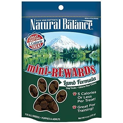 Natural Balance Mini Rewards Lamb Formula Semi-Moist Dog Training Treats 4oz