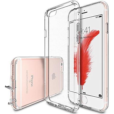 Funda iPhone 6S Plus, Ringke [AIR] ingravidez como el aire [Crystal View] extrema de peso ligero ultra-delgado transparente suave flexibles TPU resistente a arañazos Protector Funda para Apple iPhone 6S Plus/ 6