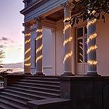 Kaemingk LED Gruppenbeleuchtung, aussen, Aussentrafo, 1504 warmweiße LED, transparentes Kabel, 13.5 m 494699