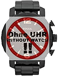 Fossil Uhrband Wechselarmband LB-JR1356 Original Ersatzband JR 1356 Uhrenarmband Metall 24 mm Grau