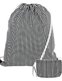 75a1e0b272bed Gym Bag Ostsee inkl. passendem Etui - Beutelrucksack im maritimen Design