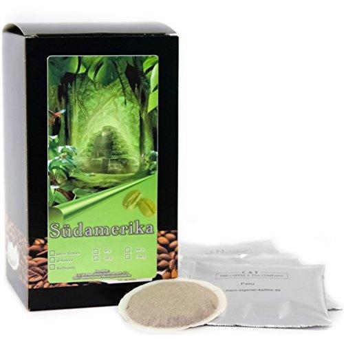 C&T Premium Kaffeepads Länderkaffee Südamerika (Peru) 60 Stück | Pads für Senseo Kaffeemaschine...