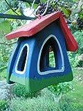 Original Die Vogelvilla, Futtermini Klassik, Vogelhaus Futterhaus, blau