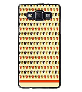 PrintDhaba Pattern D-1208 Back Case Cover for SAMSUNG GALAXY A5 (Multi-Coloured)