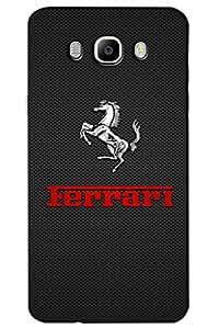 SRS Ferrari Horse 3D Back Cover for Samsung Galaxy J7 2016