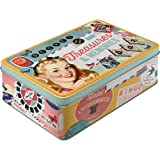 Nostalgic-Art 30710 Say it 50's Treasures und Memories, Vorratsdose Flach