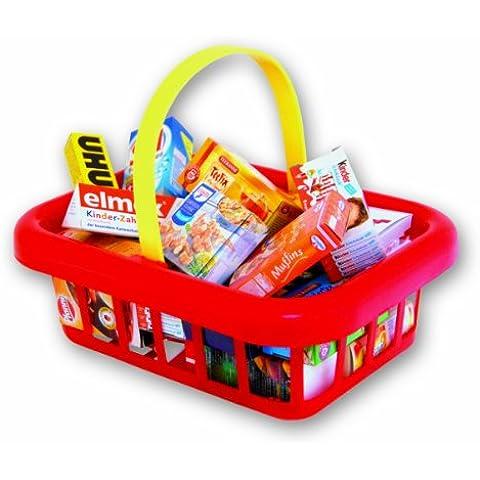 Chr. Tanner 4060.9  -  Productos de supermercado en cesta de compra de juguete [Importado de