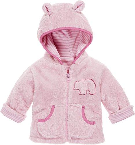 Schnizler Kinder-Jacke aus Fleece, atmungsaktives und hochwertiges Jäckchen mit Reißverschluss, mit Bär-Stickung -