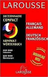 Dictionnaire Compact : Allemand/français, français/allemand