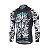 Baymate Herbst Winter Thermo Radsport Jacke Herren Fahrradtrikot Thermisches Langarm Shirt Männer Breathable