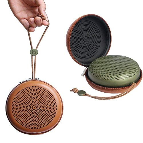 Nicecool® Custodia portatile da viaggio per speaker wireless Bluetooth BeoPlay A1 di Bang & Olufsen Brown for BeoPlay A1