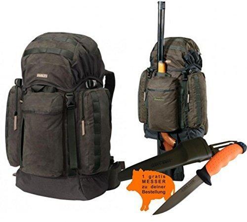 HALTI Jagdrucksack Moose - 40 Liter Fassungsvermögen und gratis Jagdmesser TOP Angebot (Angebote Top)