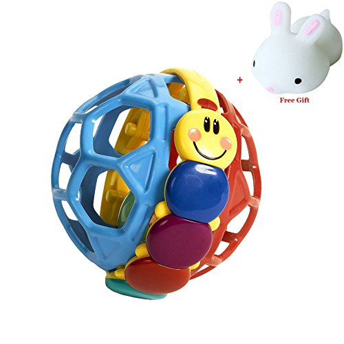 Rcool Kids Children Colorful Pliable Ball Grasping Ball Exquisite Game Ball Toy Gift 5171BEsmaeL