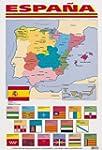 Spanish Poster - Map of Spain (Spanis...