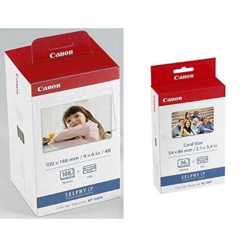 "Canon 4 X 6"" Ink and Paper Set with Canon Ink/Paper for sale  Delivered anywhere in UK"