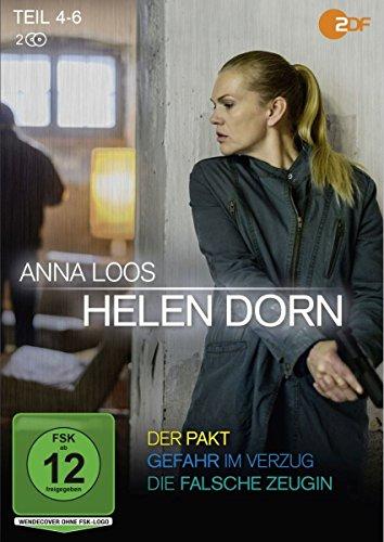 Helen Dorn - Teil 4-6: Der Pakt / Gefahr im Verzug / Die falsche Zeugin [2 DVDs]